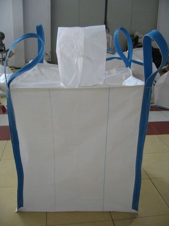 Nowy Worek Big Bag beg 92/92/105 cm lej zasyp/wysyp 500 kg HURTOWNIA