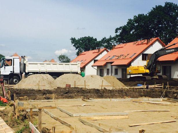 Piasek z dostawą na budowę Jelcz Oława Wrocław Okolice