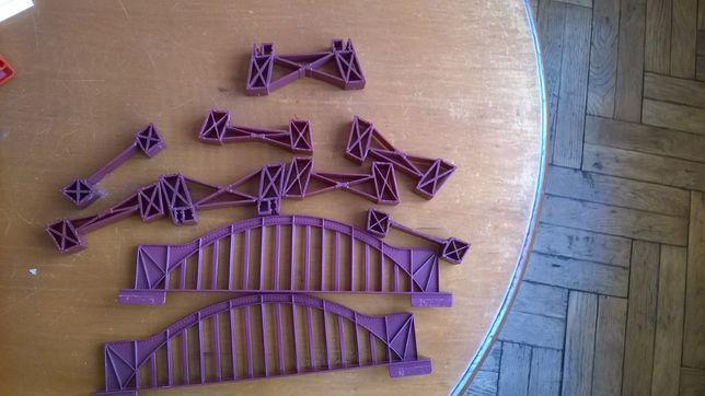 diorama makieta most kolejowy