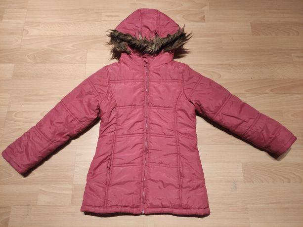 Kurtka zimowa dla dziewczynki rozmiar 122 firmy 5.10.15