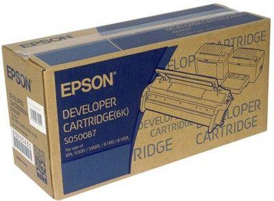 Epson EPL-5900 /6100 Developer Cartridge Black 6k