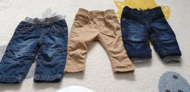 Spodnie H&M Mothercare Tu r. 68-74