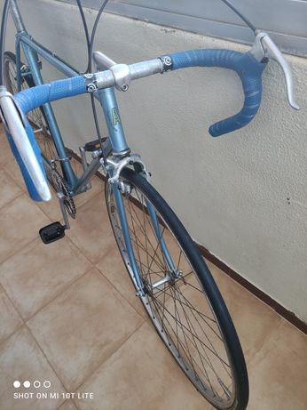 Bicicleta ciclismo antiga