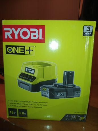 Ryobi ładowarka i akumulator 2Ah nowy