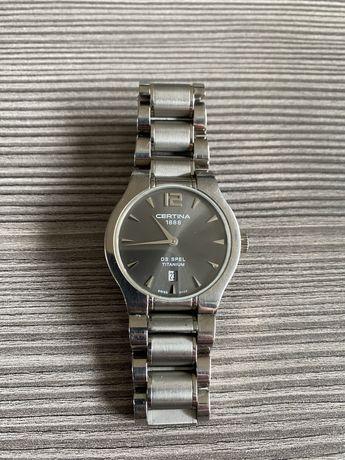 Certina zegarek damski tytanowy wodoszczelny 100m