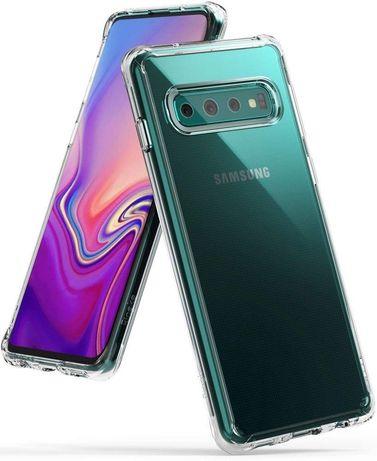 Etui Pokrowiec Ringke Fusion Samsung Galaxy S10 Crystal Clear