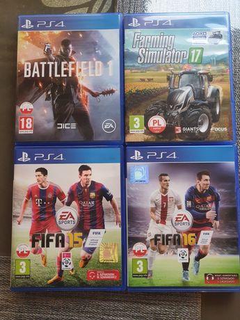 Sprzedam gry do PS4
