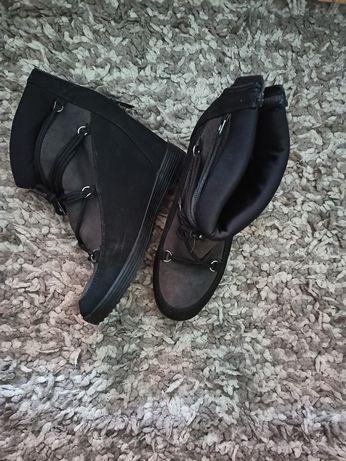 Buty na koturnie 38 wkladka 24.5cm