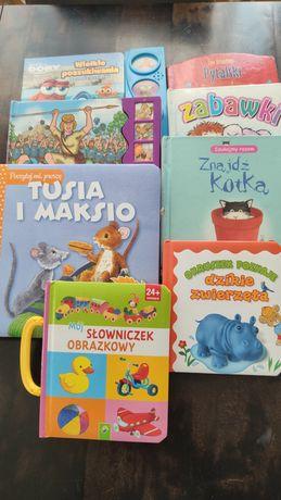 Zestaw książeczek dla dzieci 8 szt, grające