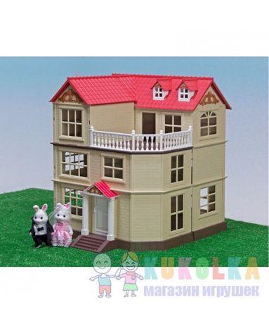 Загородный домик Happy Family с мебелью аналог Sylvanian Families 012-