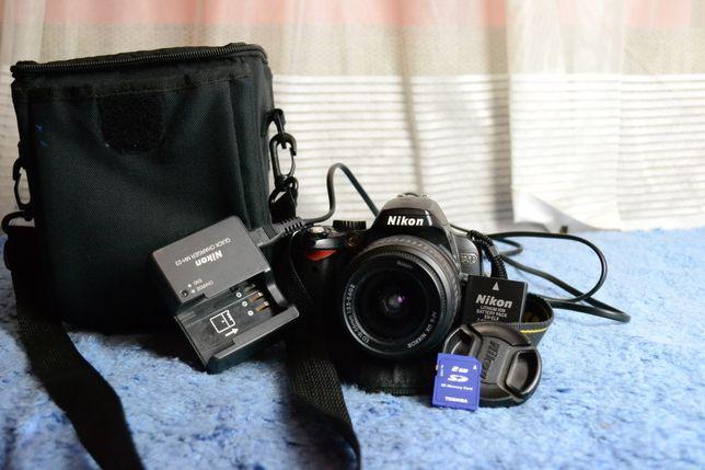 Nikon D60 + GRATIS torba i karta pamięci