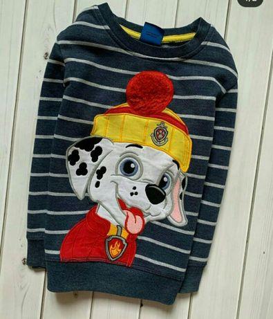 Свитер. Джемпер. Теплый свитер. Свитшот. 5-6лет.