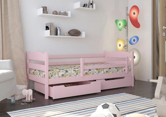 Pastelowe odcienie w pokoju dziecięcym! Różowe łóżko dziecięce!