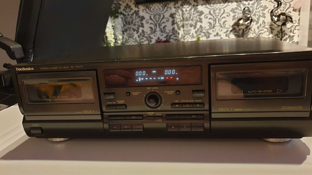 RS-TR373 Technics Stereo Cassette Deck (dwukasetowy)