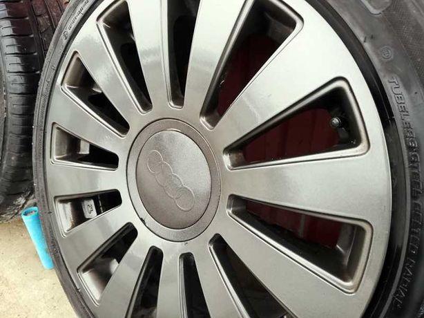 Felgi aluminiowe wzór Sline 5x112 5x100 opony 225/45/17 Audi a6 a4 Vw
