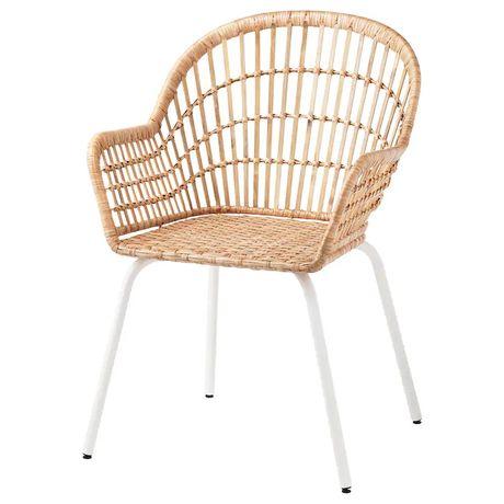 Krzesło ratanowe wiklinowe
