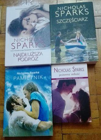 Nicholas Sparks - książki nowe