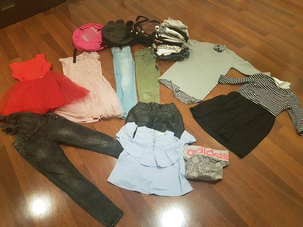 Ubrania, buty, plecaki