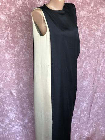 Изысканное шелковое платье в пол LANVIN Франция оригинал 36 размер