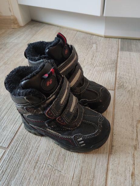 Buty zimowe śniegowce chłopięce Hasby 24 15.5cm