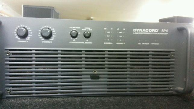 Dynacord SP5 końcówka systemowa 2.2kW. Processor System Power Amp.
