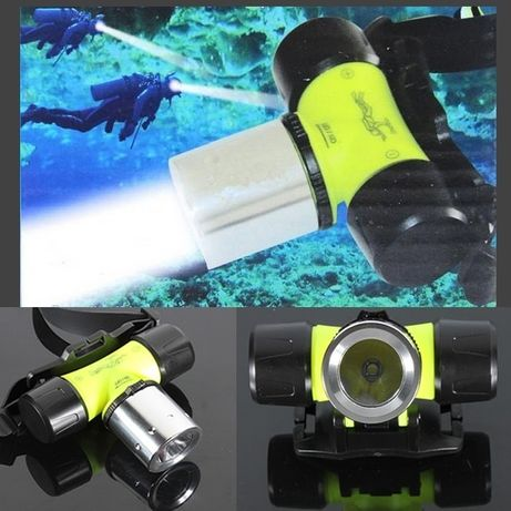 Lanterna de cabeça, à prova d'água para 30m
