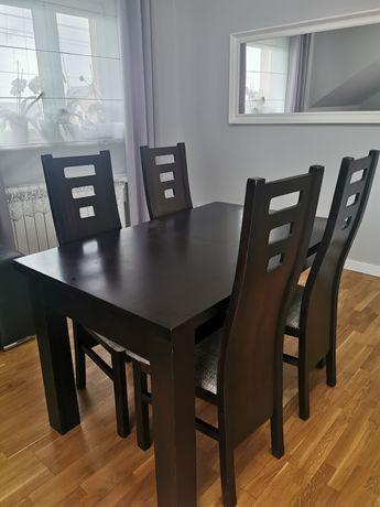 Sprzedam stół 80x120/270+4 krzesła