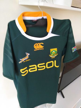 Camisola oficial Rugby África Sul M