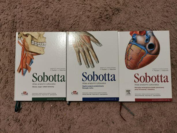 Sprzedam 3 książki do Anatomii