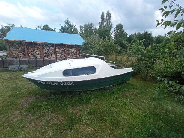 Łódź łódka kabinowa wędkarska motorowa ROMANA 4,3 x 1,8 m