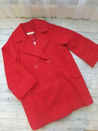 Шерстяное пальто для девочки 110 розмер