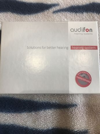 Слуховые аппараты  audifon prado S и audifon kami XS