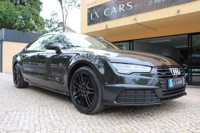 Audi A7 3.0 V6 TDI BI TURBO 320 cv Sline Black Exclusive