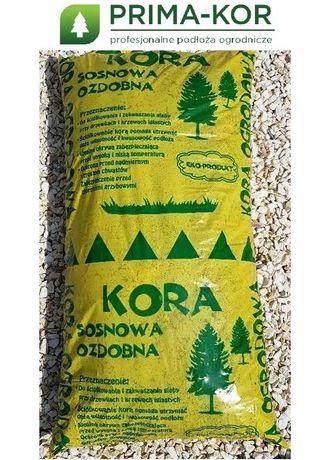 Kora Sosnowa / Dekoracyjna / Workowana -> PRODUCENT dostawy do domu