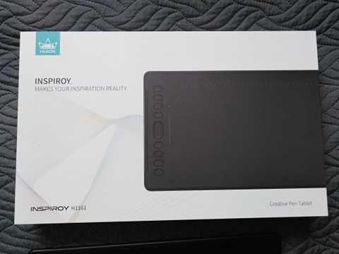 Tablet graficzny Huion H1161 + rękawiczka