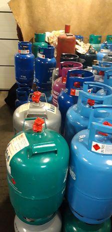 Dostawa gazu, wymiana butli, butle gazowe 11 kg, 33 kg