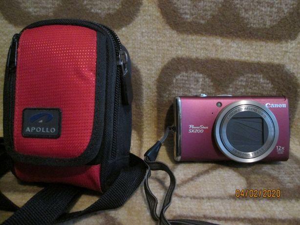 Canon sx 200 is jak nowy + torba fot