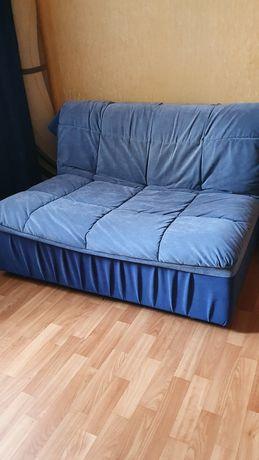 Диван кровать раскладной синий