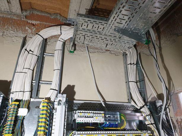 Elektryk Instalacje elektryczne pomiary linie kablowe FOTOWOLTAIKA