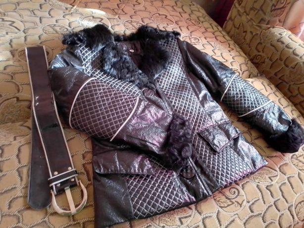 курточка зимняя без капюшона