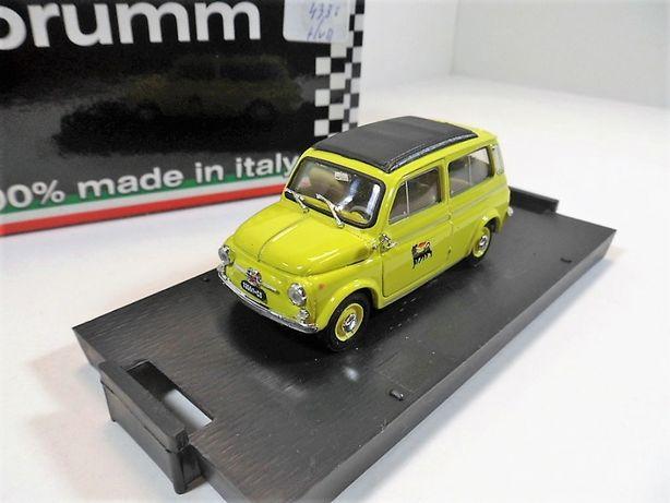 BRUMM 1.43 Fiat 500 Giardiniera,Agip