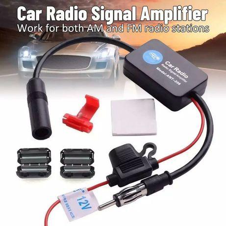 Adapatador AM FM Antena Som Simplificado Auto Rádio 1Din 2Din NOVAS