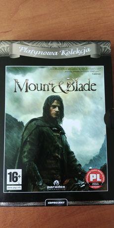 Gra PC - Mount & Blade, Platynowa Kolekcja + instrukcja oraz poradnik