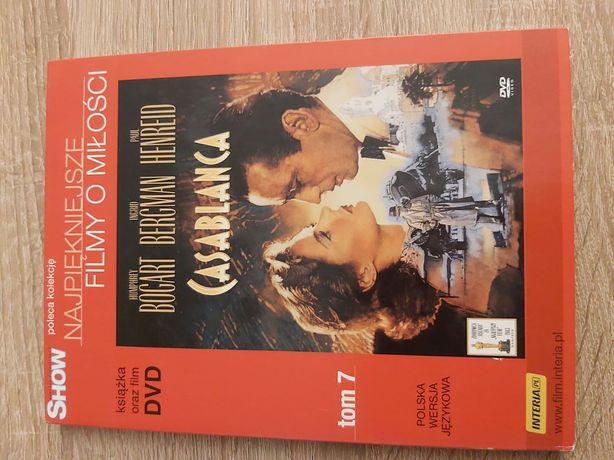 Casablanca- Humphrey Bogart Polski Lektor Film Dvd- Unikat
