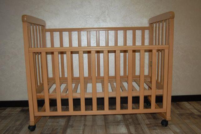 Детская кроватка Верес Соня ЛД 1 - цвет Бук