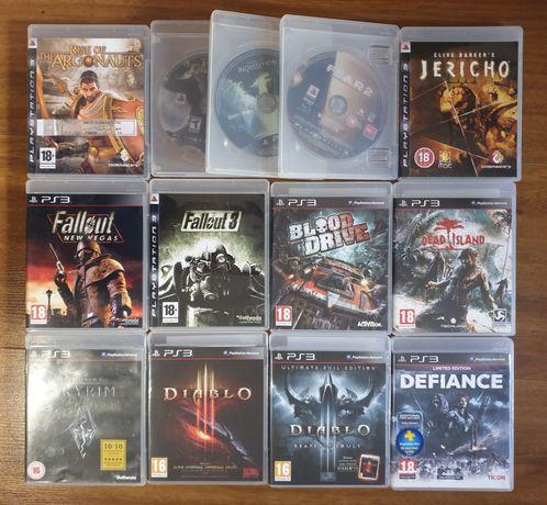 Jericho,Diablo,Dead Island,F.E.A.R,Skyrim,Blood Drive e Defiance PS3