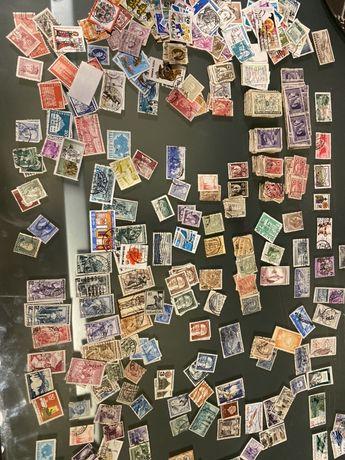 Selos de varios paises.