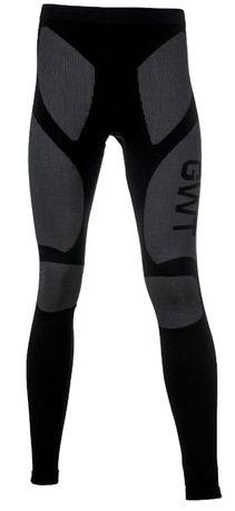 Kalesony legginsy termoaktywna męskie czarne S/M
