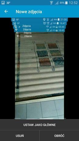 Piękny wełniany dywan