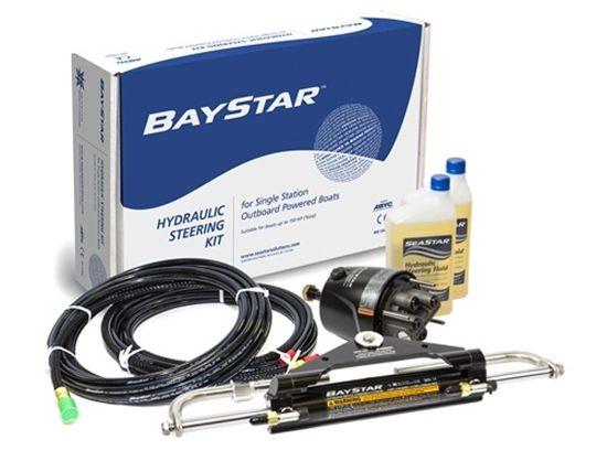 Direção Hidráulica Baystar Compact motores até 150hp (nova)